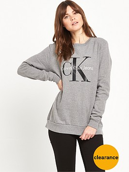 calvin-klein-branded-sweat-grey