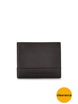 french-connection-leather-wallet