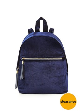 v-by-very-velvet-mini-backpack