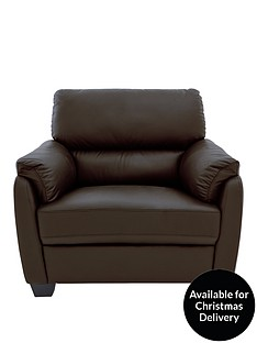 Brown Leather Living Room Chairs Home Garden