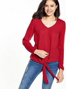 v-by-very-knot-font-blouse