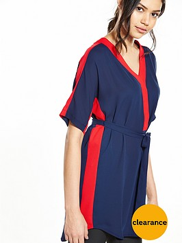 v-by-very-contrast-belted-tunic
