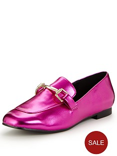 v-by-very-patsy-pink-metallic-loafer