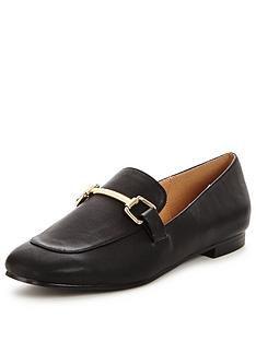 v-by-very-patsy-black-loafer