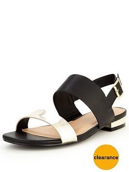 v-by-very-piper-sporty-metallic-flat-sandal