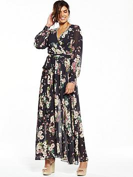 v-by-very-floral-printed-wrap-maxi-dress
