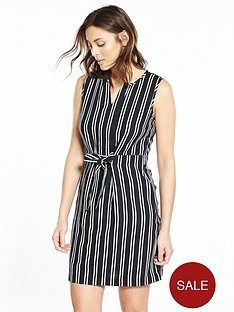 v-by-very-stripe-linen-mix-dress-monochromenbsp