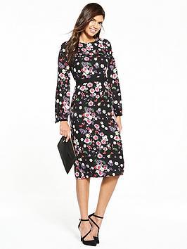 v-by-very-printed-floral-midi-dress