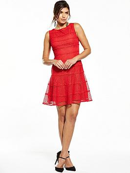v-by-very-lace-panelled-skater-dress-rednbsp