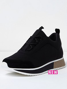 river-island-mixed-sole-trainer