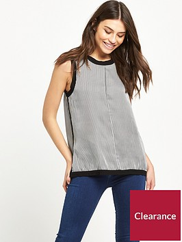 replay-stripe-top-black