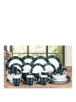 blue-tartan-32-piece-dinner-set