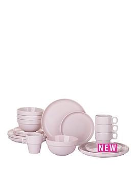 stacking-16-piece-dinner-set-pink
