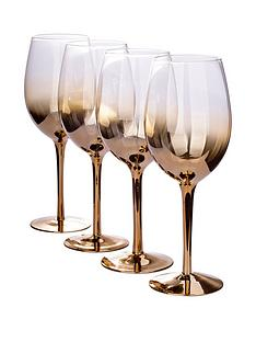 gold-ombre-wine-glasses-ndash-set-of-4