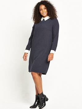 lost-ink-curve-shift-dress-in-tweed