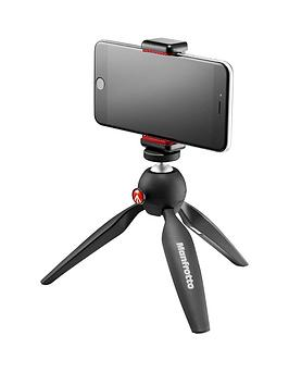 Manfrotto Pixi Mini Tripod With Phone Clamp