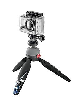 Manfrotto Pixi Xtreme Tripod With Gopro Adapter - Black