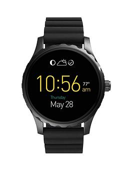 fossil-q-marshal-display-dial-black-silicone-strap-smart-watch