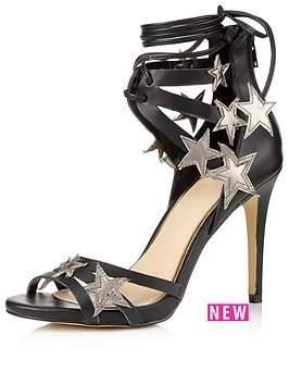 miss-selfridge-star-detail-sandal