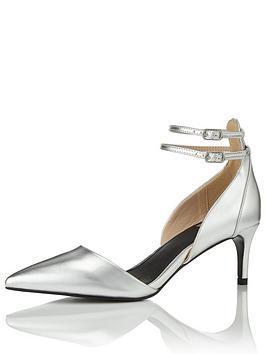 miss-selfridge-silver-mid-heel-shoe