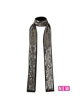river-island-bead-and-sequin-scarf