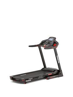 Reebok GT50 One Series Treadmill - Black with Red Trim