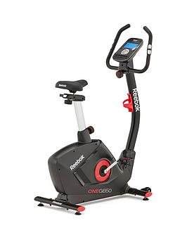 Reebok Gb50 One Series Exercise Bike - Black With Red Trim