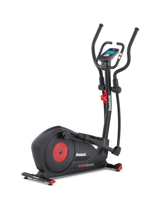 56a7272103 GX50 One Series Cross Trainer - Black with Red Trim