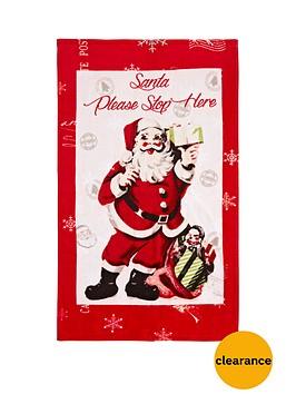 catherine-lansfield-retro-santa-hand-towel