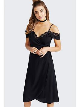 girls-on-film-girls-on-film-black-off-the-shoulder-dress-with-lace