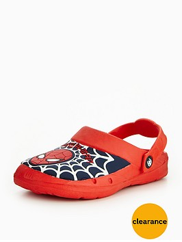 spiderman-clog