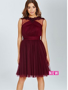 little-mistress-little-mistress-maroon-lace-and-mesh-prom-dress