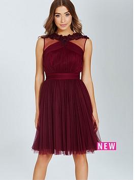 little-mistress-little-mistress-maroon-lace-and-mesh-prom-dress