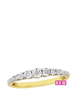 love-gold-9ct-yellow-gold-mini-diamond-set-ring