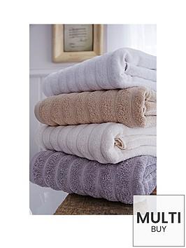bianca-cottonsoft-ribbed-towel-range