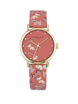radley-radley-fleet-street-coral-dial-coral-dog-print-strap-ladies-watch