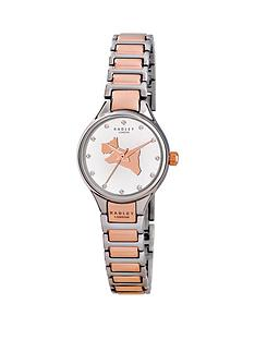 radley-radley-on-the-run-link-white-dial-two-tone-stainless-steel-ladies-watch