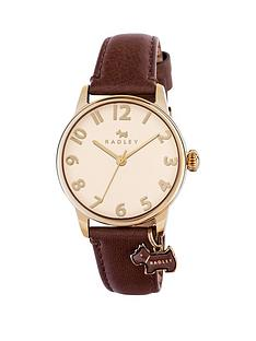 radley-radley-blair-cream-dial-dog-charm-brown-leather-strap-ladies-watch