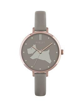 radley-radley-go-walkies-dog-dial-thin-leather-strap-ladies-strap-watch