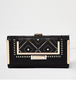 river-island-black-lasercut-purse