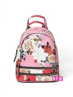 river-island-river-island-floral-printed-backpack