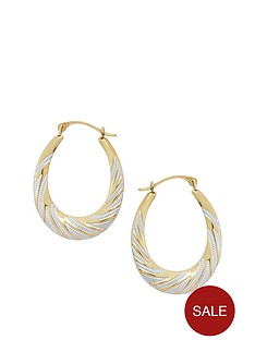 love-gold-9ct-2-tone-hoop-earrings