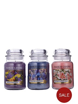 yankee-candle-set-of-3-large-classic-jars-ndash-special-floral