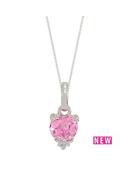 love-silver-sterling-silver-pink-cubic-zirconia-heart-shape-pendant