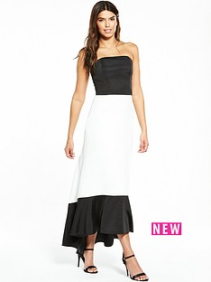 v-by-very-high-low-dress-monochrome