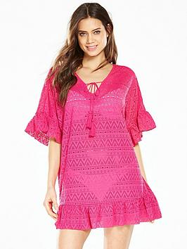 v-by-very-crochet-frill-kaftan