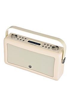 view-quest-hepburn-mk-ii-dab-radio-amp-bluetooth-wireless-speaker-cream
