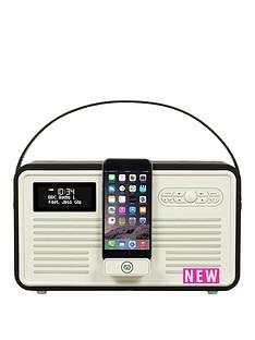 view-quest-retro-mkii-dab-bluetooth-wireless-radio-black