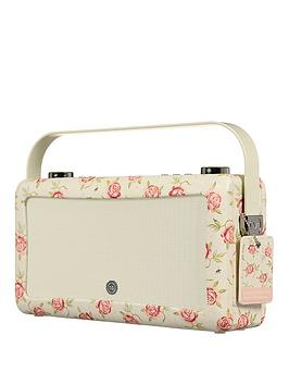 Image of View Quest Hepburn Mkii Dab Radio &Amp; Bluetooth Wireless Speaker - Emma Bridgewater Rose And Bee