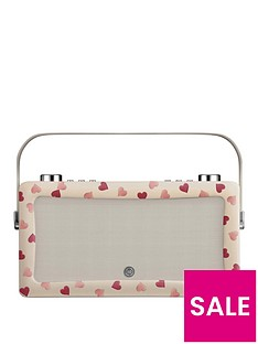 view-quest-hepburn-mk-ii-dab-radio-amp-bluetooth-wireless-speaker-emma-bridgewater-pink-hearts